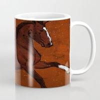 Brown Horse Mug