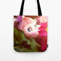 Bed Flower Tote Bag
