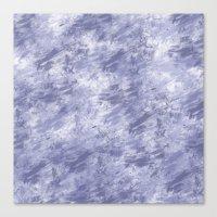 Purple Grunge Abstract Canvas Print