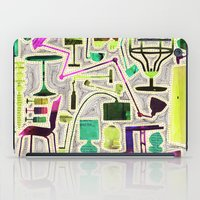 Modern Furniture Collage iPad Case