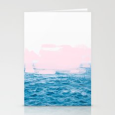Ocean + Pink #society6 #decor #buyart Stationery Cards