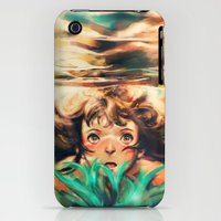 iPhone 3Gs & iPhone 3G Cases featuring The River by Alice X. Zhang