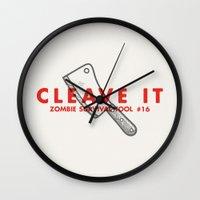 Cleave It - Zombie Survi… Wall Clock