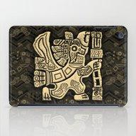 Aztec Eagle Warrior iPad Case