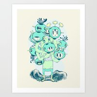 Many Heads Are Better Th… Art Print