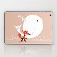 Fox and Whale Laptop & iPad Skin