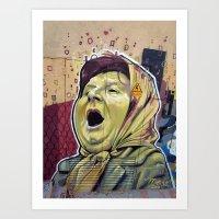 La Matriarca Art Print