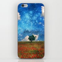The Magical Night-Day Realm iPhone & iPod Skin