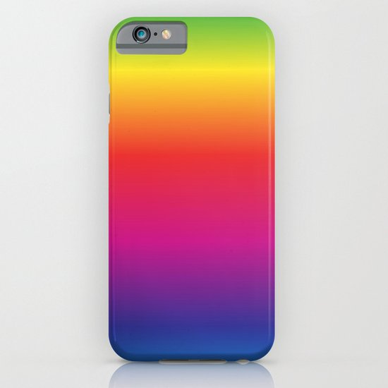 rainbow iphone mobile phone case