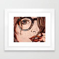 LE REGARD Framed Art Print