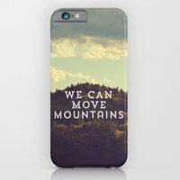 iPhone & iPod Case featuring We Can Move Mountains by Rachel Burbee
