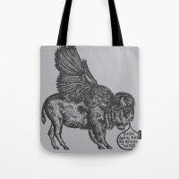 The Buffalo's Plea Tote Bag
