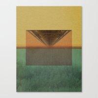 The Bridge Downtown Canvas Print