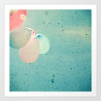Float Away Art Print