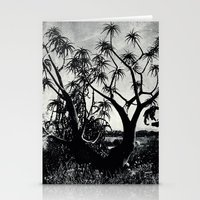 Upward towards consciousness while rooted in the ground Stationery Cards