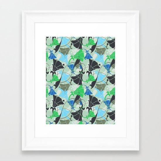 Nouveau Nouveau Framed Art Print