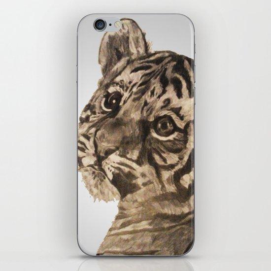 Baby Tiger iPhone & iPod Skin