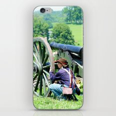 Civil War era canon fire iPhone & iPod Skin