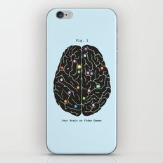 Your Brain On Video Games iPhone & iPod Skin