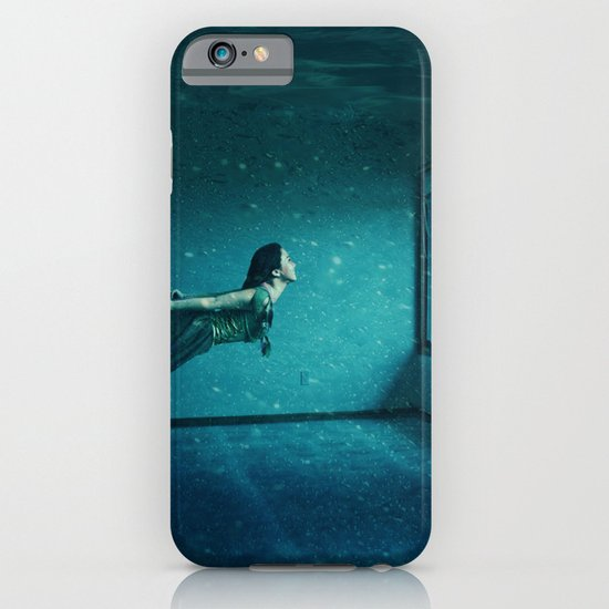 swimming girl iPhone & iPod Case