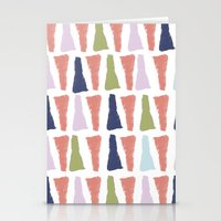 PAINT TRIANGLES Stationery Cards