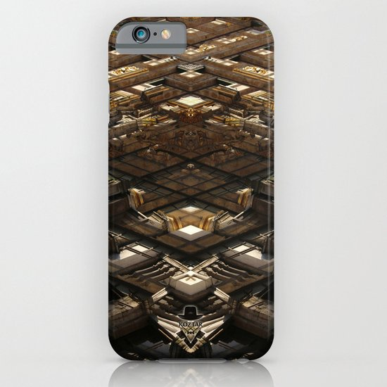 grand place brussels rorschach symmetry caleidoscope mirror 24102 iPhone & iPod Case