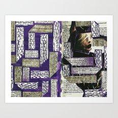 Purple It Art Print