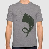 Street Delivery Mens Fitted Tee Tri-Grey SMALL