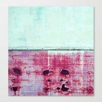 Pink Rust Canvas Print