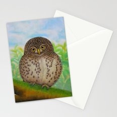 Collared Owlet Stationery Cards
