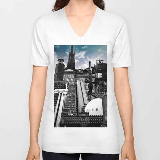 Urban Stockholm V-neck T-shirt