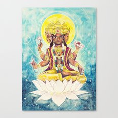 Creation, Brahma Canvas Print