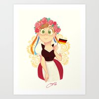 Germany Art Print