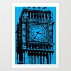 London L Art Print