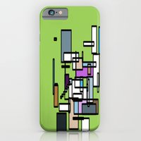 iPhone & iPod Case featuring sQuAREs  by Adie Wynter