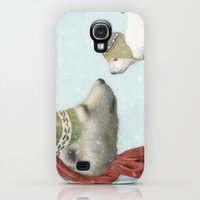 Galaxy S4 Cases featuring First Winter by Eric Fan