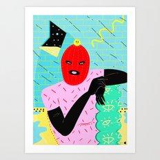 Pussssssy Riot Art Print