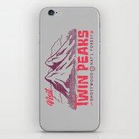Visit Twin Peaks iPhone & iPod Skin