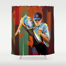 The Showdown Shower Curtain