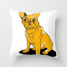 Frenchie Throw Pillow
