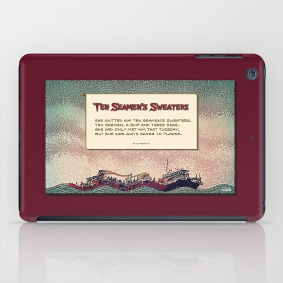 Ten Seamen's Sweaters iPad Case