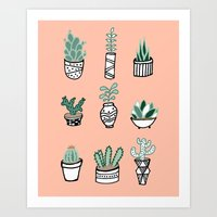 House Plants Art Print