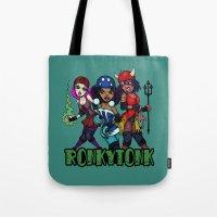 RonkyTonk Halloween Roller Derby Shirt Tote Bag