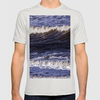 To The Sea, To The Sea..… Mens Fitted Tee Silver SMALL