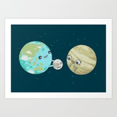 I'd Give you the Moon Art Print