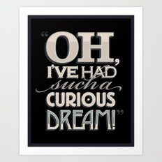 Curious Dream Art Print