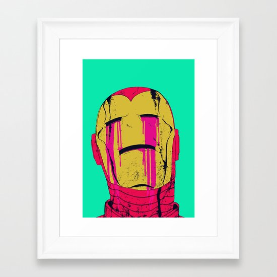 Smack! Framed Art Print