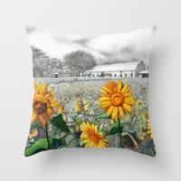 girasoli Throw Pillow