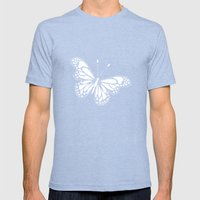 Transforming - I Am White Now Mens Fitted Tee Tri-Blue SMALL