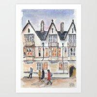 Oxford: High Street Art Print